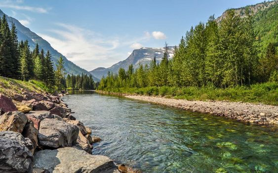 Virtual tour around Lake McDonald, Glacier National Park