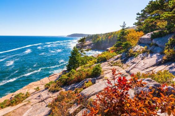 Virtual tour around The North Atlantic Coastline, Acadia National Park